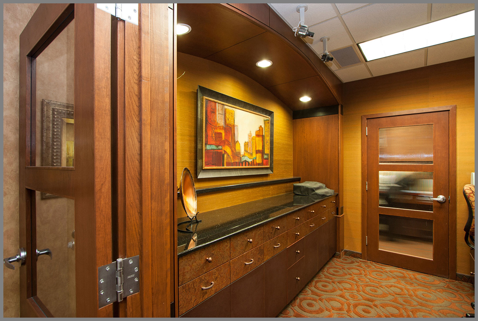 Commercial Cabinetry Orlando Custom Desks And Counters