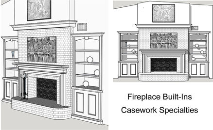 office stations and custom cabinets
