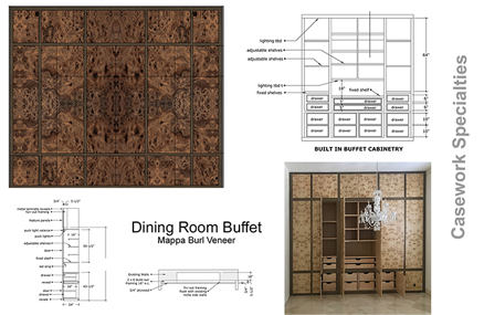 Bar and restaurant Cabinetry