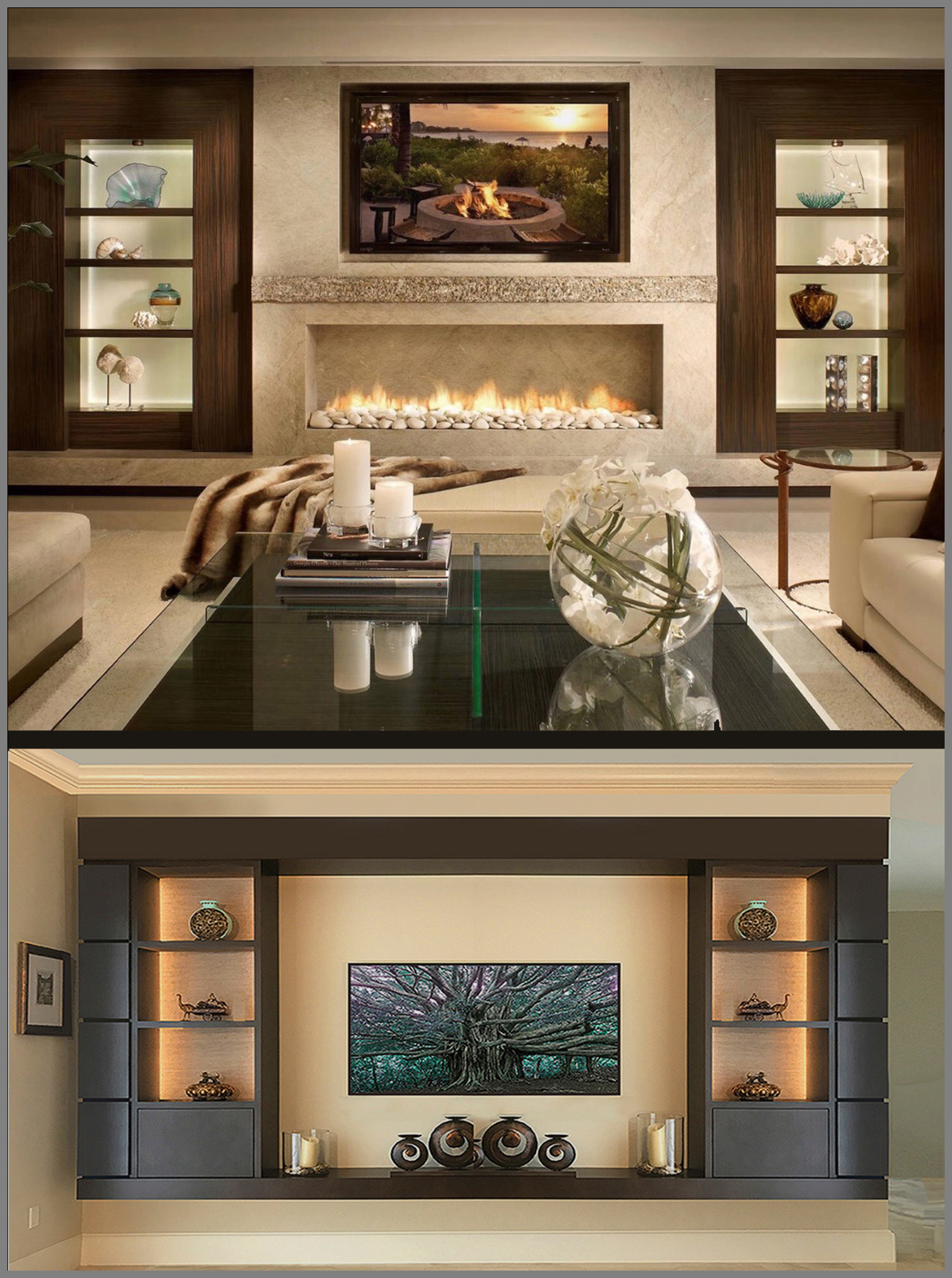 Custom Cabinets Orlando Built In Closet Tv Wall Units Entertainment Centers