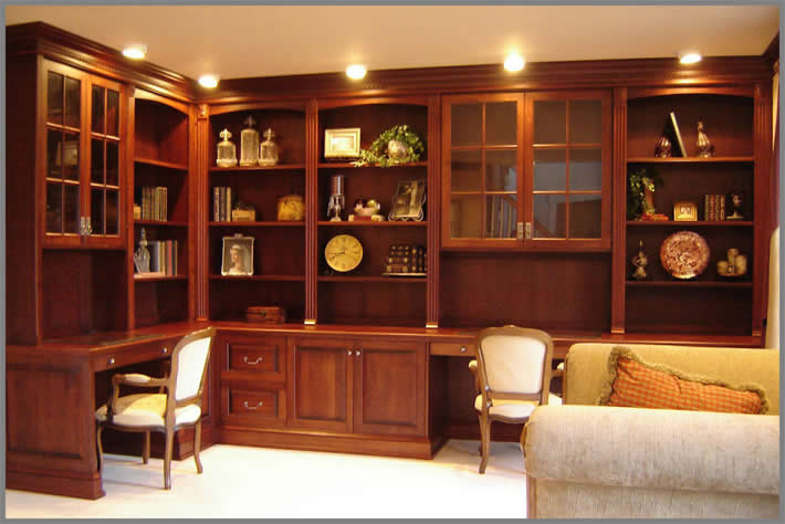 Large Office Wall Unit For Small Room